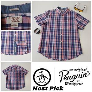 Original Penguin Heritage Slim Fit Button Up Shirt